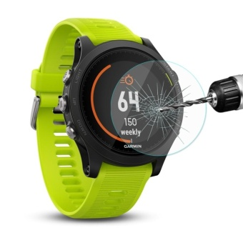 Harga ENKAY Hat-Prince For Garmin Forerunner 935 Smart Watch 0.2mm 9HSurface Hardness 2.15D Explosion-proof Tempered Glass Full ScreenFilm - intl