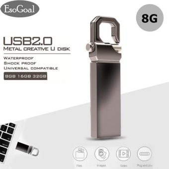 EsoGoal USB 2.0 Flash Drives Mini Metal 8GB