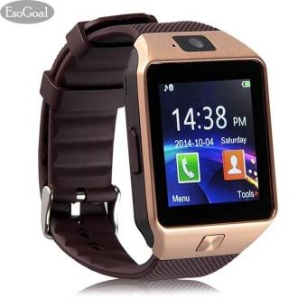 EsoGoal bluetooth Digital jam tangan pintar ponsel jam tangan pintar kamera GSM SIM kartu pergelangan tangan