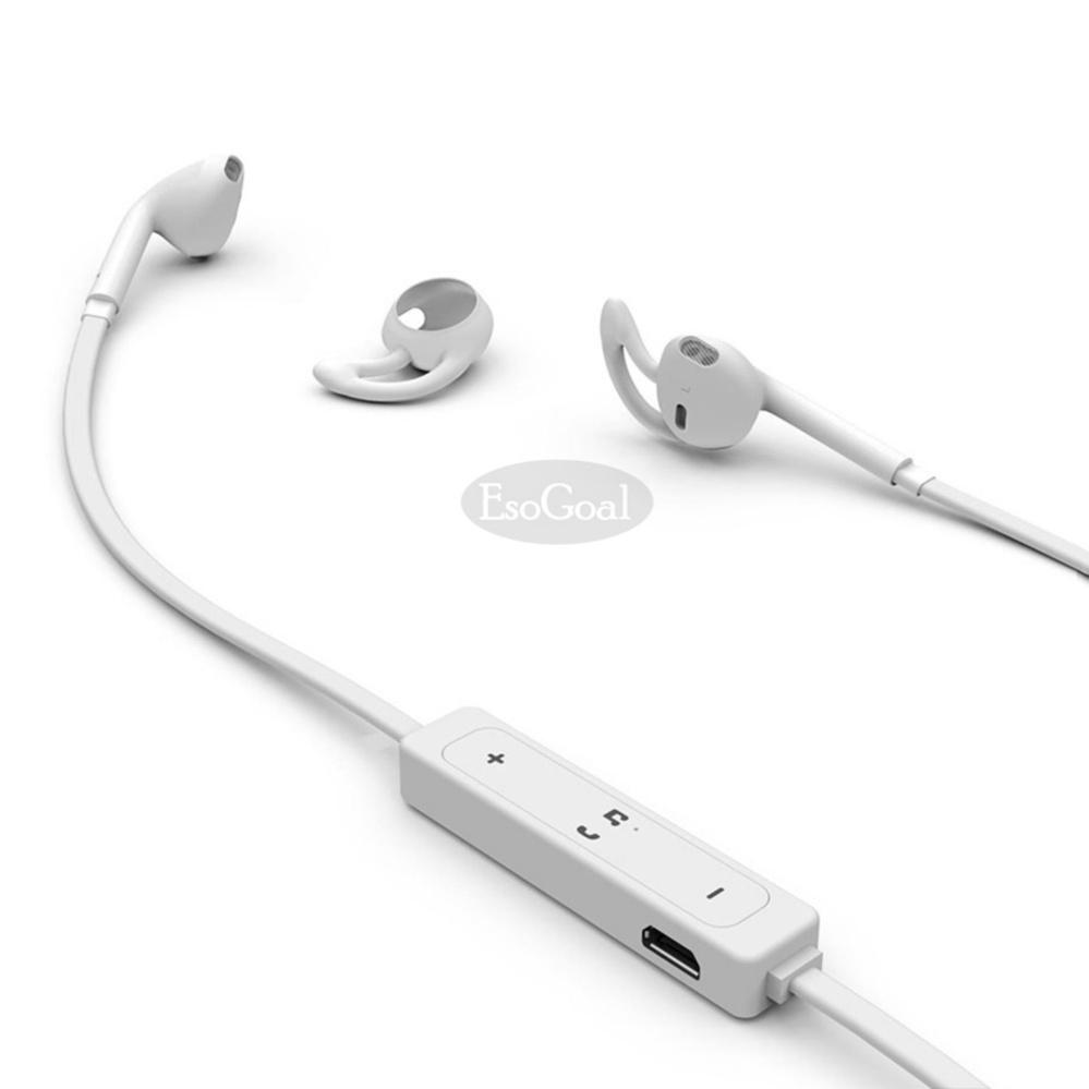 ... EsoGoal bluetooth Headphone nirkabel olahraga telinga tunas Gym headset berlari earphone tahan keringat Workout earbud ...