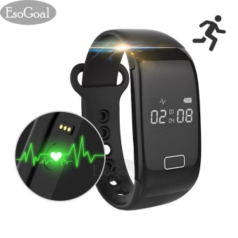 Harga EsoGoal Fitness Tracker Smart Bracelet Bluetooth Heart Rate Monitor Activity Watch Wristband Pedometer Sleep Bracelet Calories Track Step Health Band IP 57 Waterproof Smart Watch for iPhone & Android phones - intl