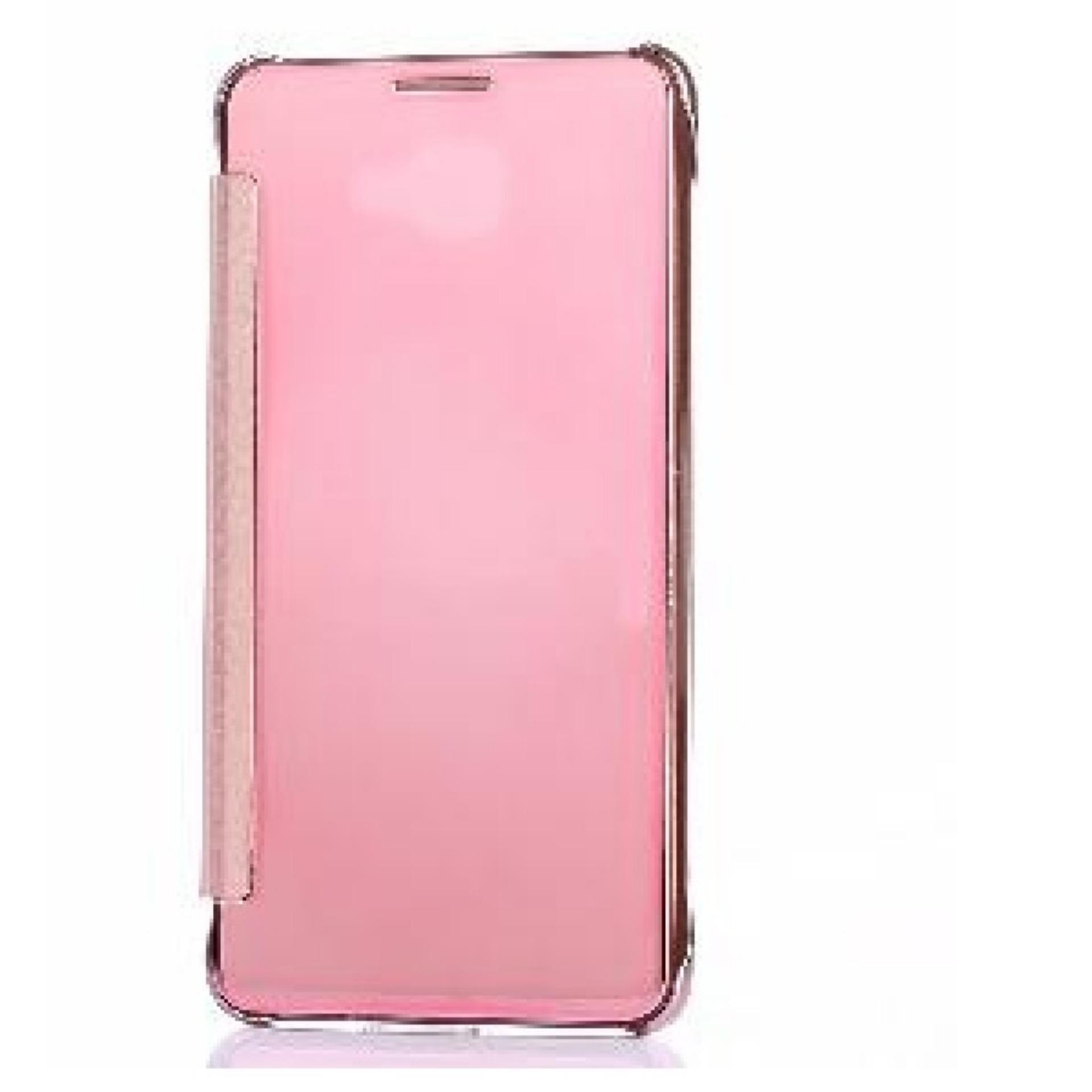 Executive Chanel Case Samsung Galaxy J7 Prime Flipcase Flip Mirror Cover S View Transparan Auto Lock ...