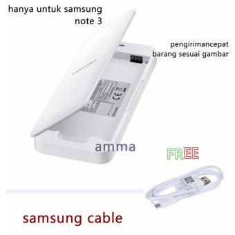 Extra Battery Kit Samsung Galaxy note 3 Original +SAMSUNG CABLE