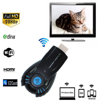 EZCAST Wireless Miracast Dongle Tampilan TV Wifi Tongkat DLNA Airplay Adaptor
