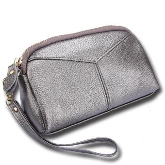 Fashion kulit wanita dompet handphone tas wanita Clutch
