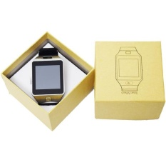 Fashion Smartwatch For Apple Android Phone Smart Watch With Camera Anti-lost Support SIM/TF Card MP3 Player DZ09 - intl