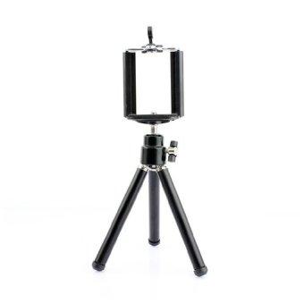 harga FDT Smartphone Tripod Mini Silver + Holder U - Hitam Lazada.co.id
