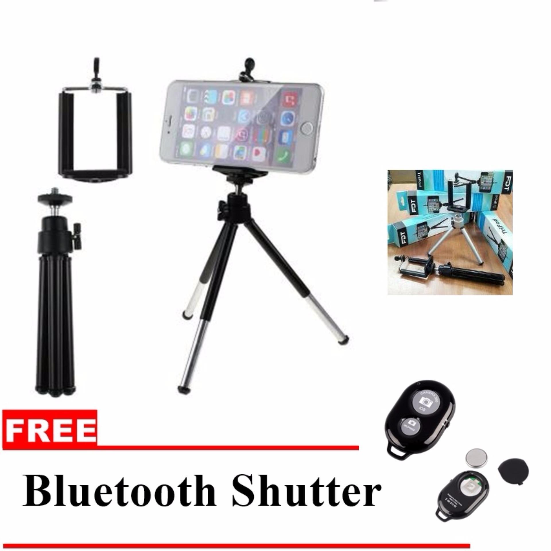 1shop Flexibel Tripod Gorillapod U Holder Free Pouch Multifungsi Tokocamzone Spider Mini Flexible With For Smartphones Fdt Bluetooth Shutter