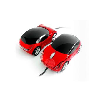 Ferrari kartun berwarna-warni lampu mobil sport buku tulis kabel mouse