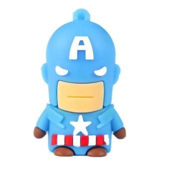 Marvel USB Flashdisk Kartu Captain America 16GB