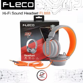 FLECO Original Super Bass Stereo Headset Handsfree Headphone withMIC