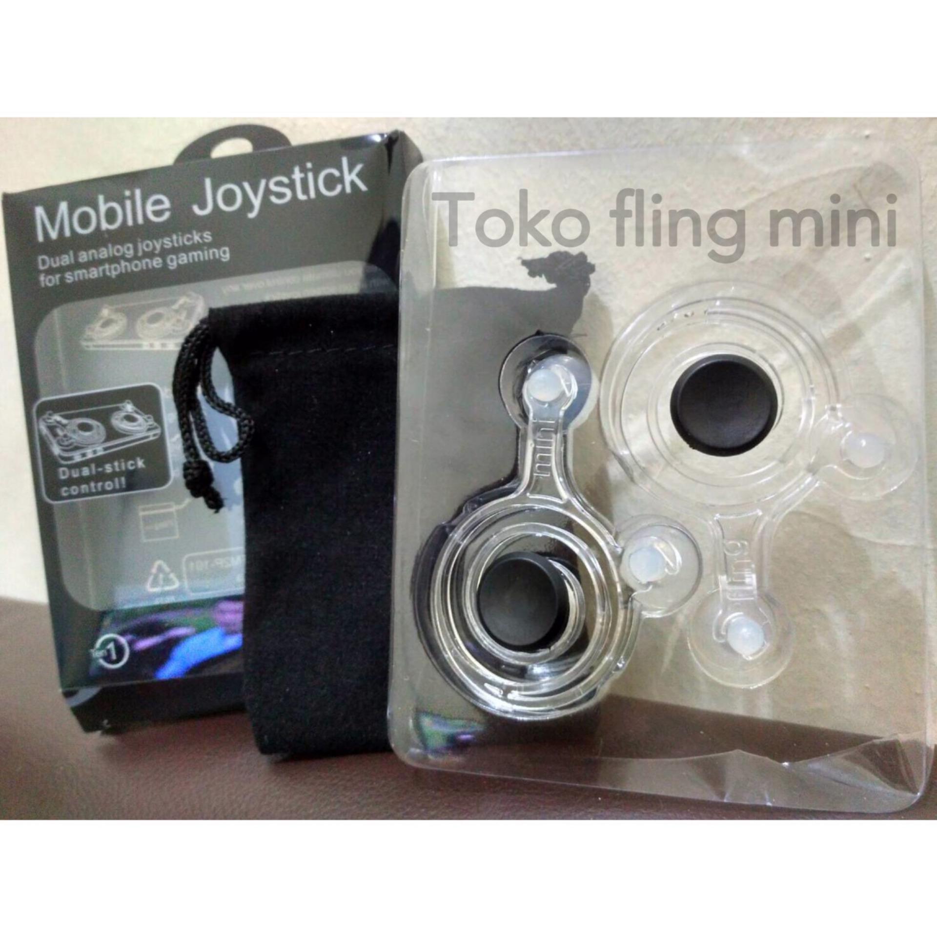 Wanky Fling Mobile Joystick Game Controller Mini For Smartphone Gamepad Hp Android Dan Ios Untuk Iphone Free Pouch