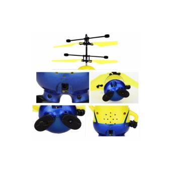 Flying heli - Helicopter Toy Mainan Anak Terbang Minion