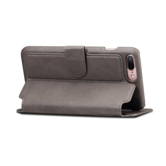 For Apple Iphone 6/6s Plus Premium Genuine Leather Card Slotpattern Wallet flip Cover Phone Case - intl - 4