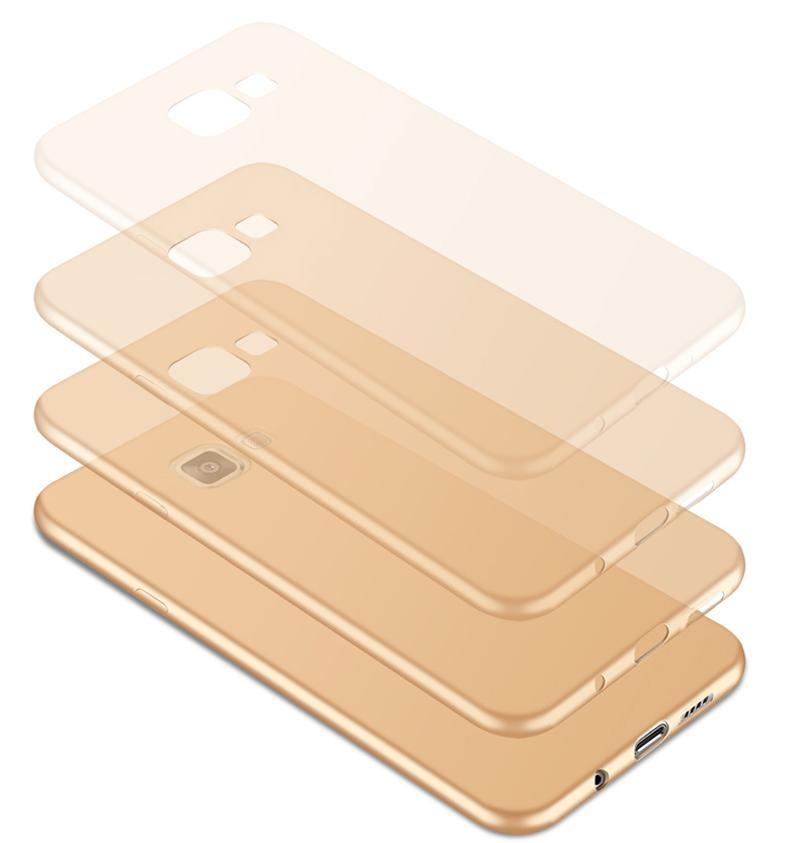 For Galaxy J7 Ultra Prima Slim silikon lembut ponsel Touch case / halus .