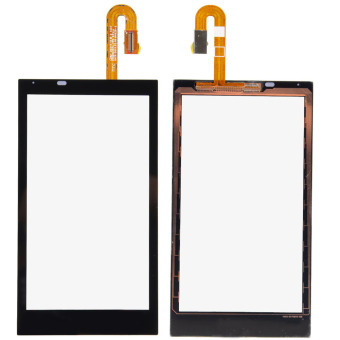 For HTC Desire 610 Glass Front Touch Screen Digitizer Replacement Black New- - intl