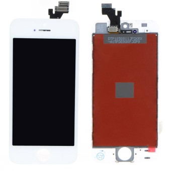For iPhone 5 5G LCD Display Touch Screen Digitizer Assembly Replacement (Black/White) - intl