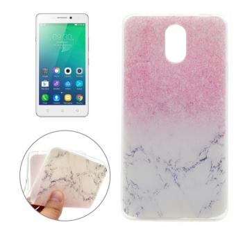 For Lenovo VIBE P1m Marble Pattern Soft TPU Protective Back CoverCase - intl