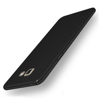 For Samsung Galaxy A5 (2016) A510 Full Body Hard PC Smooth Grip Back Case Cover (Black) - intl