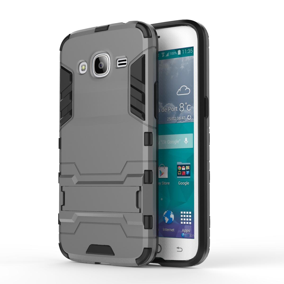 Shopping Comparison For Samsung Galaxy J2 2016 Case J210 J210F Slim Hard Back CoverShockproof Robot Armor Silicone Phone Case For Samsung J2 2016 -intl