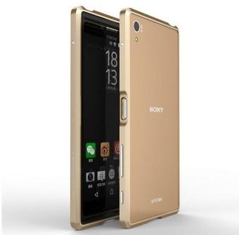 For Sony Z5 Premium (5.5″)Luxury Ultra Thin Aircraft Aluminum MetalBumper Case For Sony Xperia Z5 Premium Phone Cover – Intl