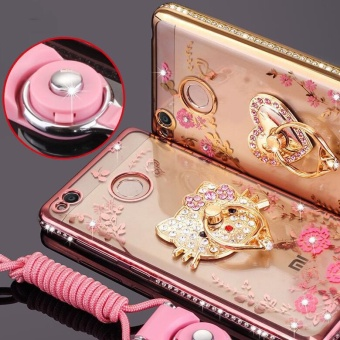 For Xiaomi Redmi 4X 5 0 inch Case Luxury 3D Soft Plastic CaseCoque .