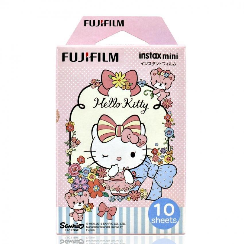 Fujifilm Instax Mini Hello Kitty instan HK 30 film untuk Fuji 7S 825 .
