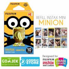 Fujifilm Refill Instax Mini Film Minion Despicable Me - 10 Lembar