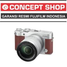 Fujifilm X-A3 Kit 16-50mm BROWN / XA 3 / XA3 RESMI