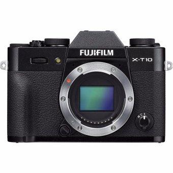 FUJIFILM X-T10 BODY BLACK - intl