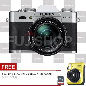 Fujifilm X-T10 Kit XC 16-50mm II - Silver