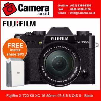Fujifilm X-T20 Kit XC 16-50mm f/3.5-5.6 OIS II - Black + Instax SP2