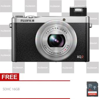 fujifilm XQ2 + SDHC 16gb - Silver