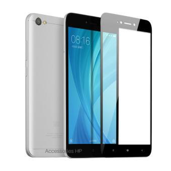 Full Cover Tempered Glass Warna Screen Protector for Xiaomi Redmi Note 5A Standar (Non Fingerprint