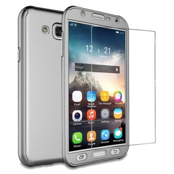 Galaxy J5 2015 case ,Mooncase 360? Full Protection Matte PC Hard Hybrid Ultra thin