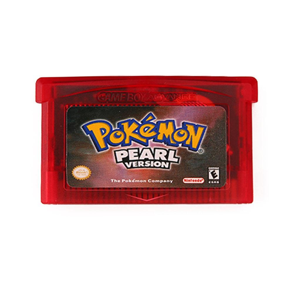 game card for pokemon pearl