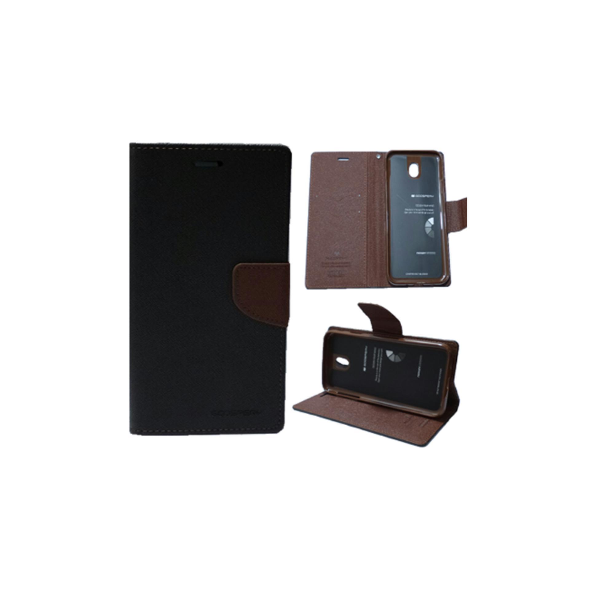 Mercury Goospery Fancy Diary Case Flip Cover Casing For Samsung Tab S2 80 T715 Purple Navy
