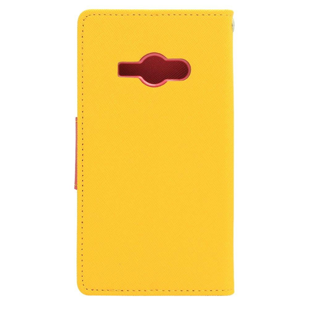 ... Goospery Mercury Wallet Flip Case Fancy Diary Samsung Galaxy J1 ACE Original