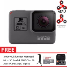 GoPro Hero5 / GoPro Hero 5 Black Combo 3 Way Deluxe 32GB SpinIndo