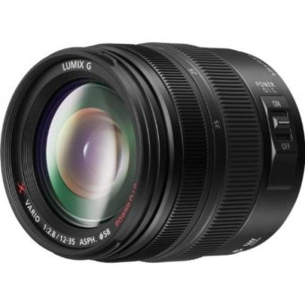 GPL/ PANASONIC LUMIX G X Vario Lens, 12-35mm, F2.8 ASPH.,Professional Mirrorless Micro Four Thirds, POWER Optical I.S.H-HS12035 (USA BLACK)/ship from USA - intl