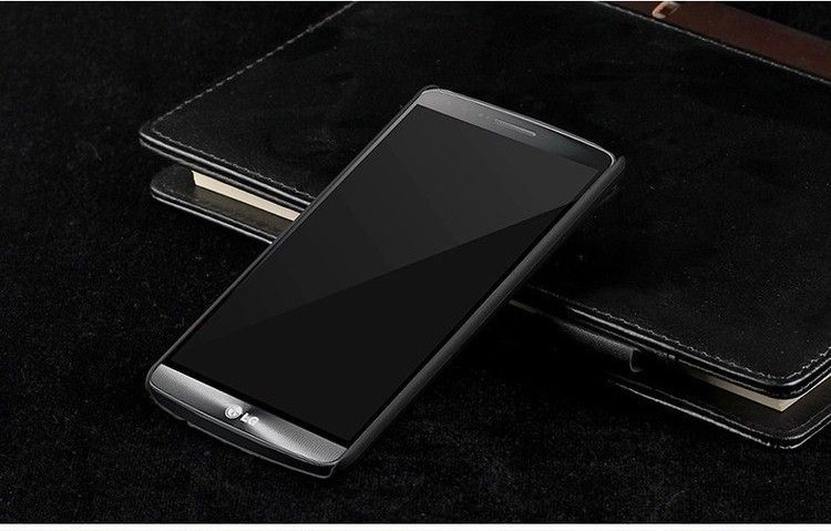Grind arenaceous Hard Plastic 5.0 Cell Phone Back Cover Case For LGG3 Mini .