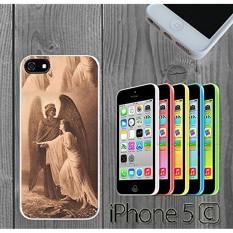 Guardian Angel Art Custom made Case/Cover/skin FOR iPhone 5C - White - intl