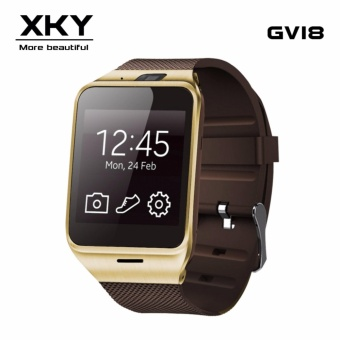 GV18 Smart Watch Bluetooth Heart Rate Monitor Android Smart Watchwith NFC