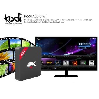 H96 Android Smart TV Box Amlogic RK3229 Quad Core HD Media Player 1GB/8GB High cost performance 4K OTT Box solution - intl