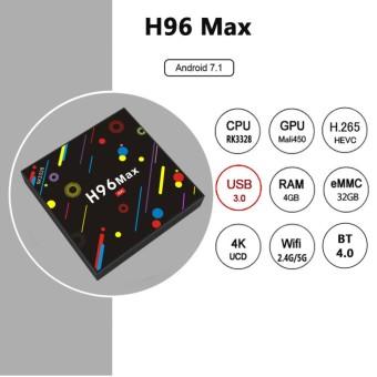Jual A5x Max Tv Box Android 7 1 Rk3328 4k Vp9 H 265 Hdr10 Usb 3 0