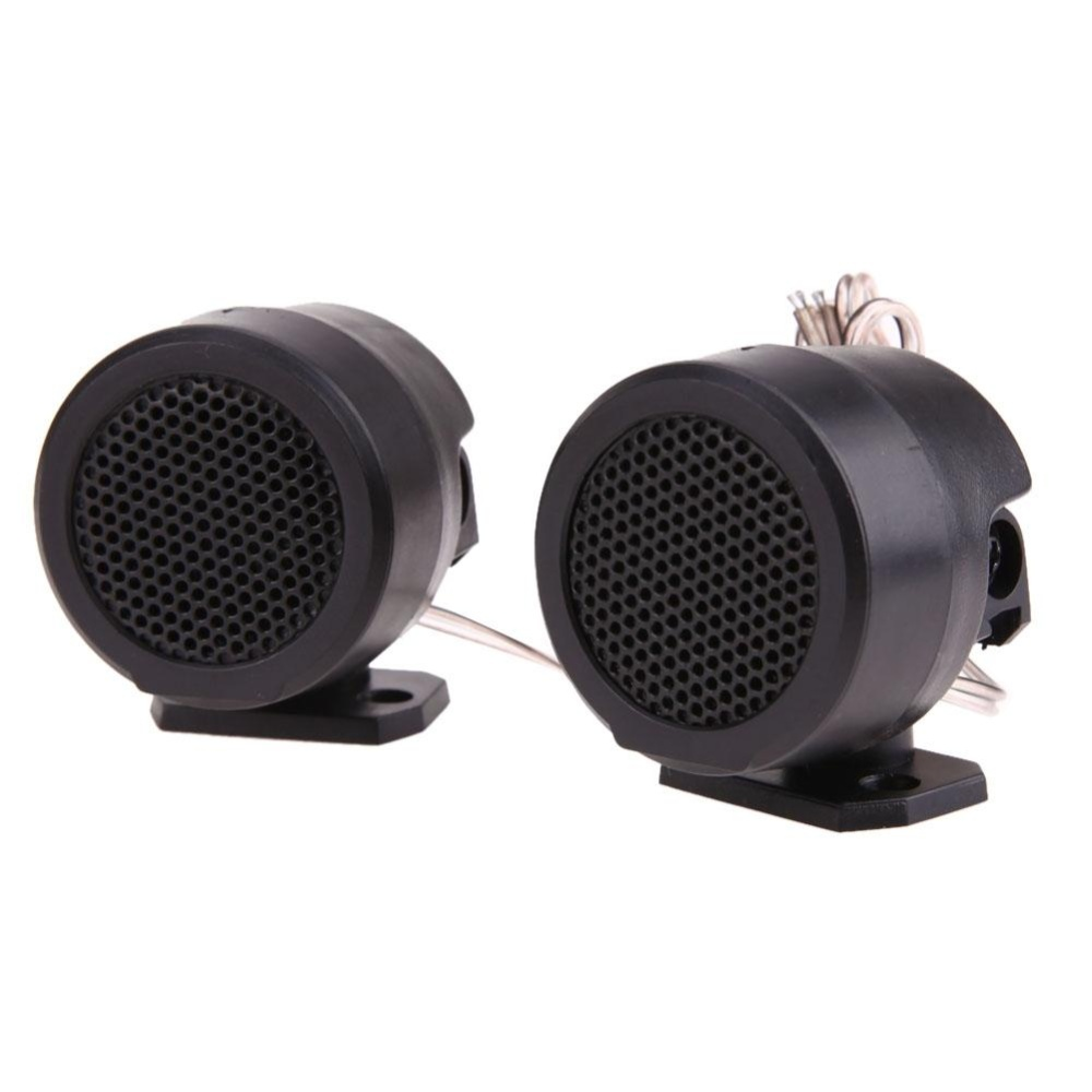 Half Dome Car Loud Speaker Tweeter High Efficiency Audio System with Stand -
