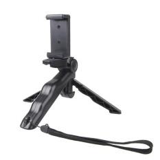 Hand Grip Portable/Mini Tripod Stand Steadicam Curve dengan Klip Lurus untuk GOPRO HERO 4