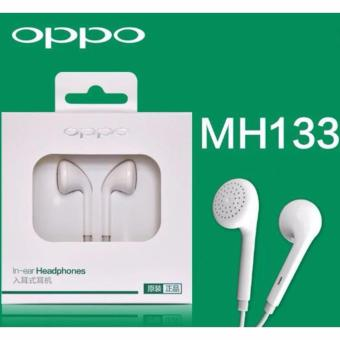 HANDSFREE OPPO R9 ORIGINAL 100% EARPHONE HEADSET HF NON KARET MH133