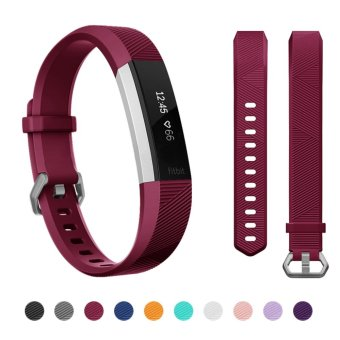 Hanlesi Fitbit Alta HR Band , Newest Universal Fitbit Alta HR /Fitbit Alta Band Replacement Sport Fitness Wristband Strap withSecure Metal Buckle for Fitbit Alta HR 2017 - intl