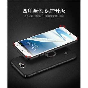Detail Gambar Hard 360 PC phone case PC for Samsung Galaxy Note 2/Royal gold